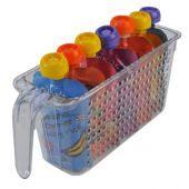 Novo Organisers Kitchen Basket Tall Clear