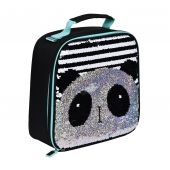 Mono Panda Sequin Reveal Lunch Bag