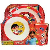 Ryans World 3 Piece PP Tableware Set