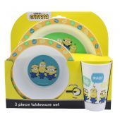 Dumbo 3 Piece PP Tableware Set