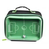 Interactive 3D Football Pitch Lunch Bag