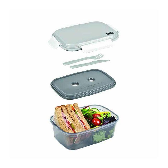 lunch box chiller ice pack grey polar gear