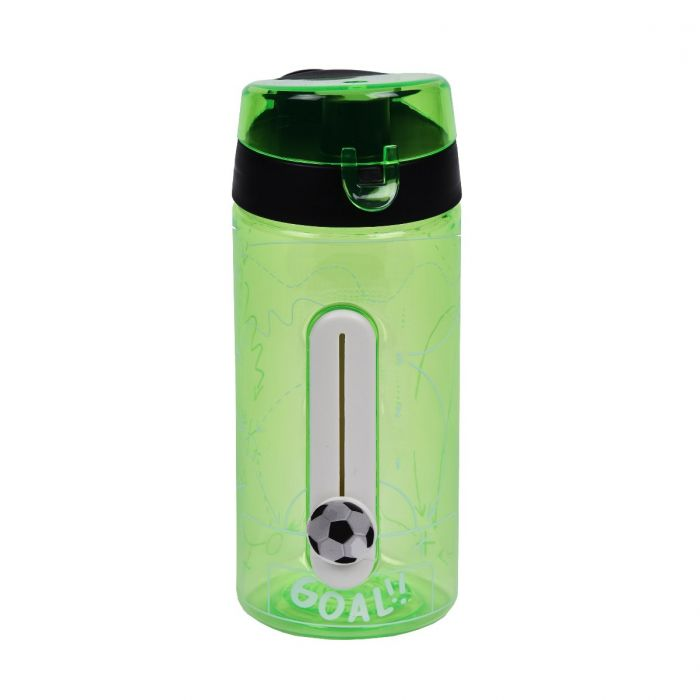 Goal 550ml Tritan Slider Tracker Bottle