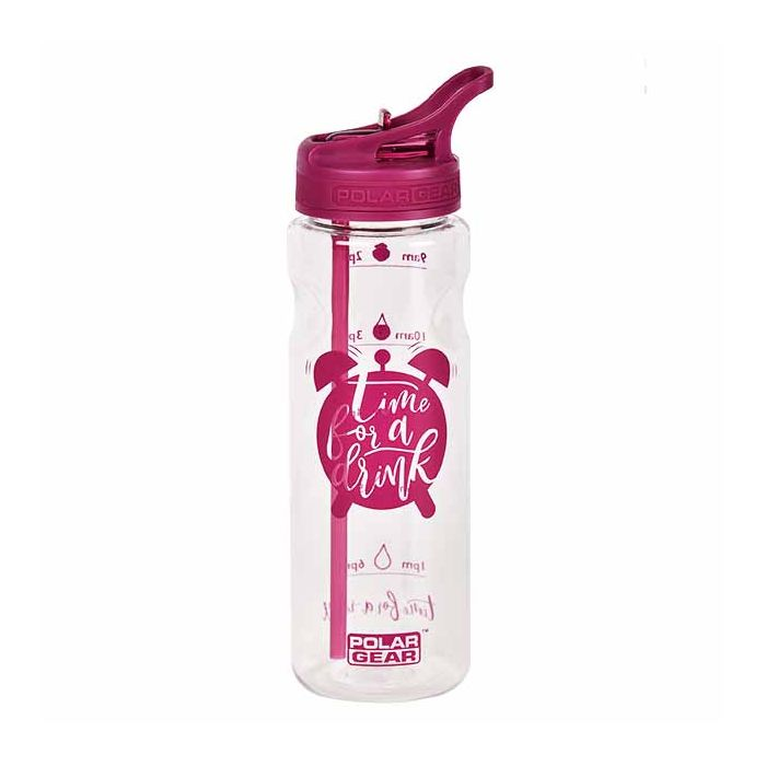 Polar Gear Berry 750ml Water Tracker 1